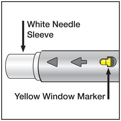 Pen White Needle Sleeve