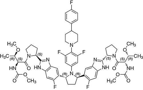 pibrentasvir chem structure