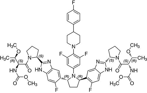 pibrentasvir chem structure