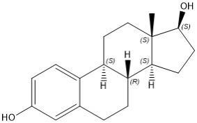 Estradiol structure