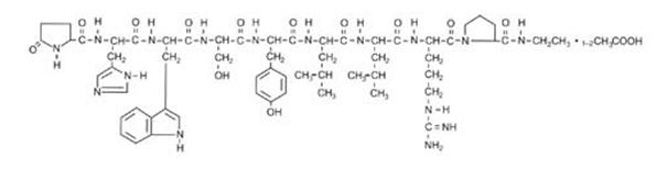 Lupron structure