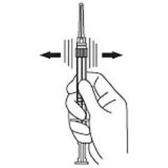 syringe shake
