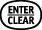 enter clear button
