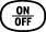 on off button