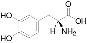 levodopa chem structure