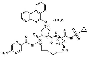 paritaprevir molecular structure