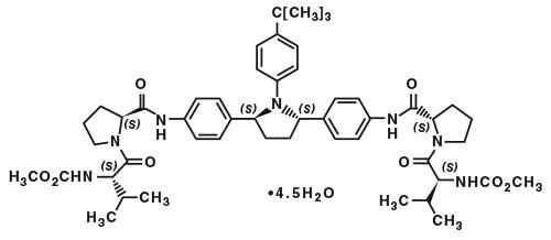 ombitasvir molecular structure