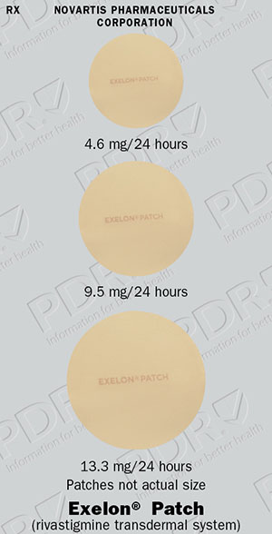 Exelon patch half dose