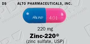 Zinc 220 Full Prescribing Information Pdr Net
