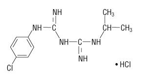 proguanil hydrochloride molecular structure